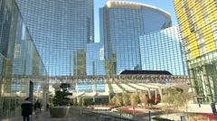 Las Vegas Resort and Sky Tram Stock Footage