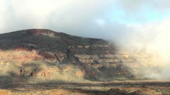 Cloudscape & mountains, Tenerife, Spain. Stock Footage