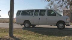 Stock Footage - Michele Bachmann - 99 County Iowa Tour Van Stock Footage