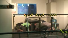 Earthquake Simulator In Japan Stock Footage