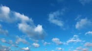 Stock Video Footage of sky and cloud - timelapse