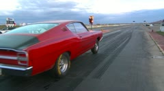 Motorsports, drag race Ford Torino Stock Footage