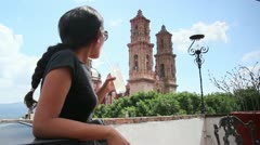 Tourist in Mexico Stock Footage