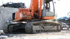 Large Scrap Metal Recycling Center Scrap Metal Recycling Yard Stock Footage