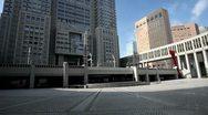 Japan, tokyo, Shinjuku, Tokyo Metropolitan Government Building Stock Footage