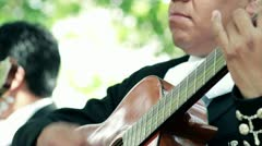 Mariachi Playing - stock footage