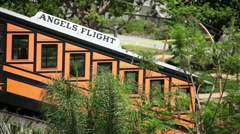 Angels Flight 07 HD Stock Footage