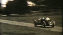 COUNTRY CAR RACE 1960 Stock Footage