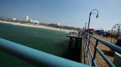 Santa Monica Pier 10 HD Arkistovideo