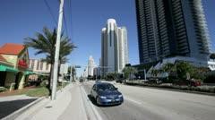 Sunny Isles Beach Miami Stock Footage