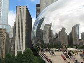 Chicago Reflection Time Lapse Stock Footage