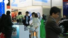 AutoMechanika Shanghai 2011 Stock Footage