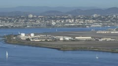 Coronado Naval Air Station - San Diego, CA Stock Footage
