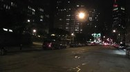 NYC-021 NIGHT TIMELAPSE DRIVING LONG CLIP Stock Footage