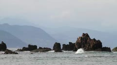 Japanese Coastline Stock Footage