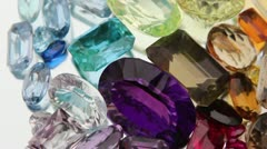 Gemstones - stock footage