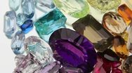 Stock Video Footage of Gemstones