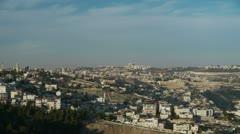 Jerusalem dslr timelapse 1211 zoom Stock Footage