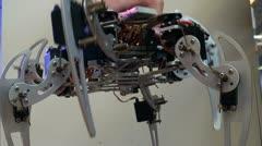 Arachnoid robot - stock footage