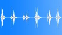 Stiff plastic sheet shaking Sound Effect