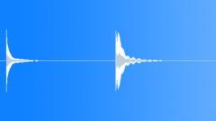 Long sustain wine glass chinks - sound effect