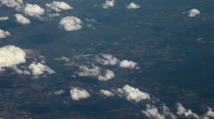 Flying above clouds Stock Footage