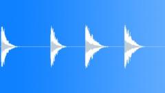 SFX - Metal - Big Plate Objects Impact - 42 - EAR Sound Effect