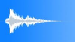 SFX - Metal - Medium Metal Objects Impact - 6 - EAR - sound effect