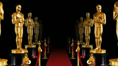 Red Carpet and Oscars Stock Footage