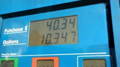 Gas Pump 05 HD Stock Footage