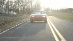 300zx drive behind 1 Stock Footage