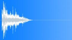SFX - Metal - Medium Metal Objects Impact - 66 - EAR Äänitehoste