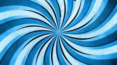 Creative burst blue 01 Stock Footage