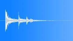 SFX - Metal - Medium Metal Objects Impact - 1 - EAR Sound Effect