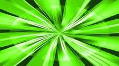Creative burst green 02 Stock Footage