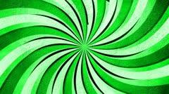 Creative burst green 01 Stock Footage