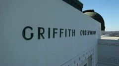 Griffith Park Observatory 12 HD Stock Footage