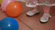 Baby Shoes Stock Footage