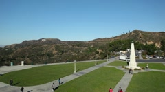 Griffith Park Observatory 13 HD Stock Footage