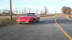 300zx drive behind 7 Stock Footage