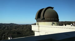 Griffith Park Observatory 17 HD Stock Footage
