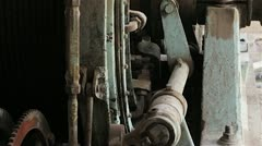 Mine Control Mechanism Stock Footage