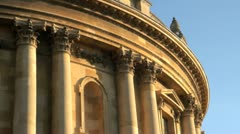 Radcliffe Camera in Oxford Stock Footage