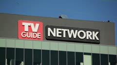 TV Guide Network HD - stock footage