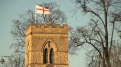 St Giles Church in Oxford Stock Footage