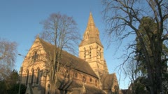 Church of St Philip and St James in Oxford Stock Footage