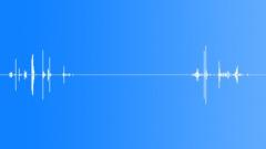 Slow wood  sticks cracking - sound effect