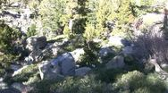 Stock Video Footage of Sierras Peak