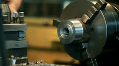 Machine tool - stock footage