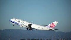 China Airlines 02 HD Stock Footage